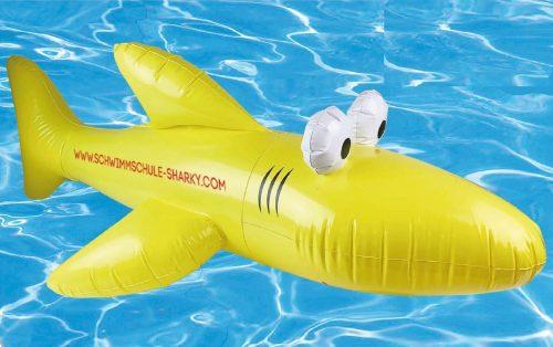 Aufblasbarer Hai
